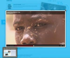 Met indrukwekkende video's geeft Unicef op Linkedin beeld van leven Yusuf en hoe het anders kan.