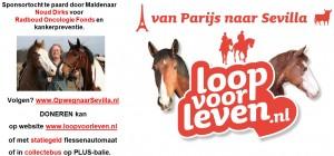 PLUS campagne OpwegnaarSevilla - Radboud Oncologie Fonds - Loop voor Leven - Noud Dirks - MariannA Bakker